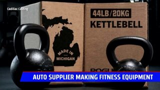 Michigan company enters fitness scene by producing popular kettle bells