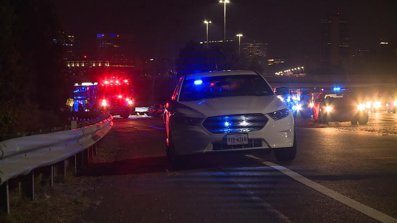 Police ID 3 killed after 4 motorcycles hit guardrail on I-95 ramp in Richmond