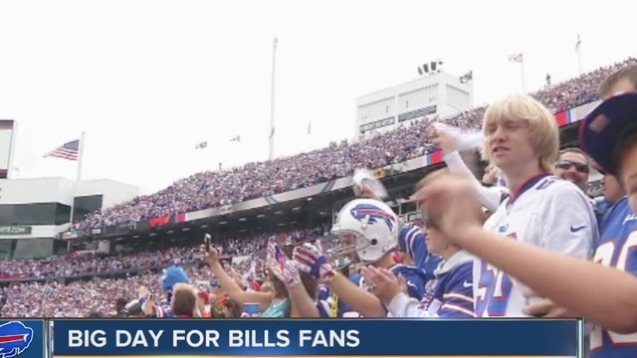 Buffalo Bills won't adopt new policy ending tailgating at kickoff time