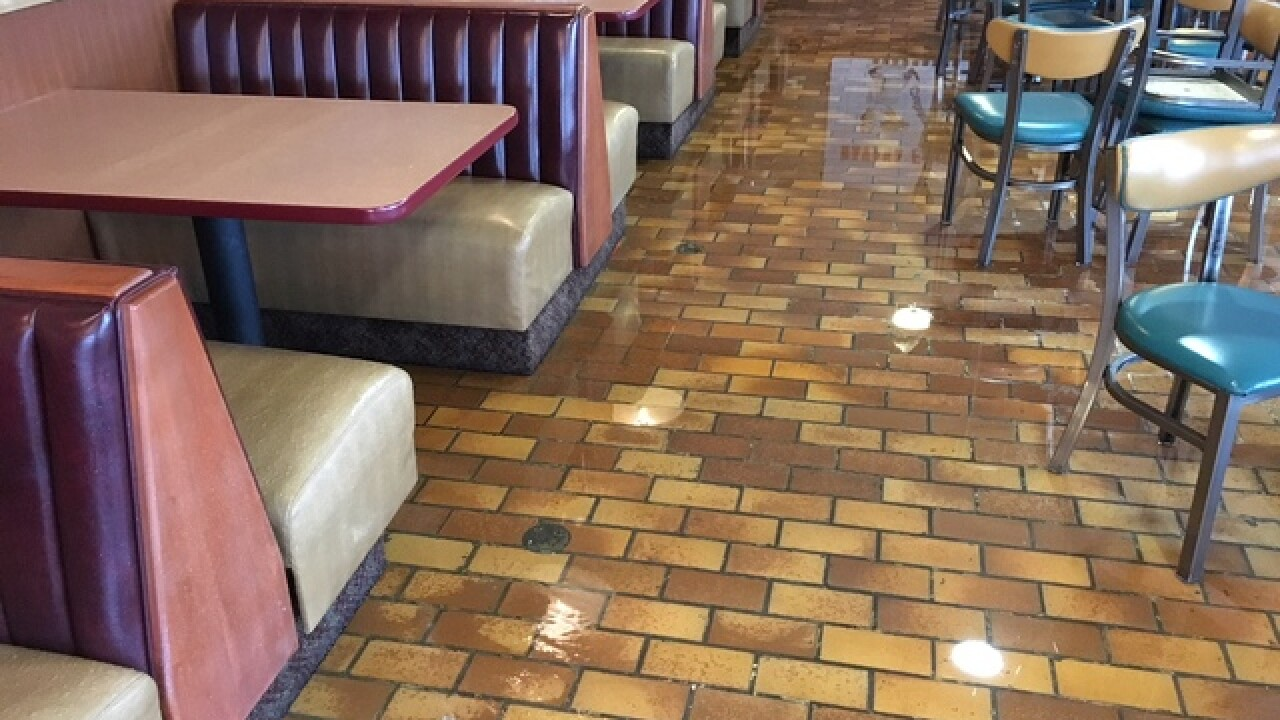 Winter storm puts new restaurant out of business