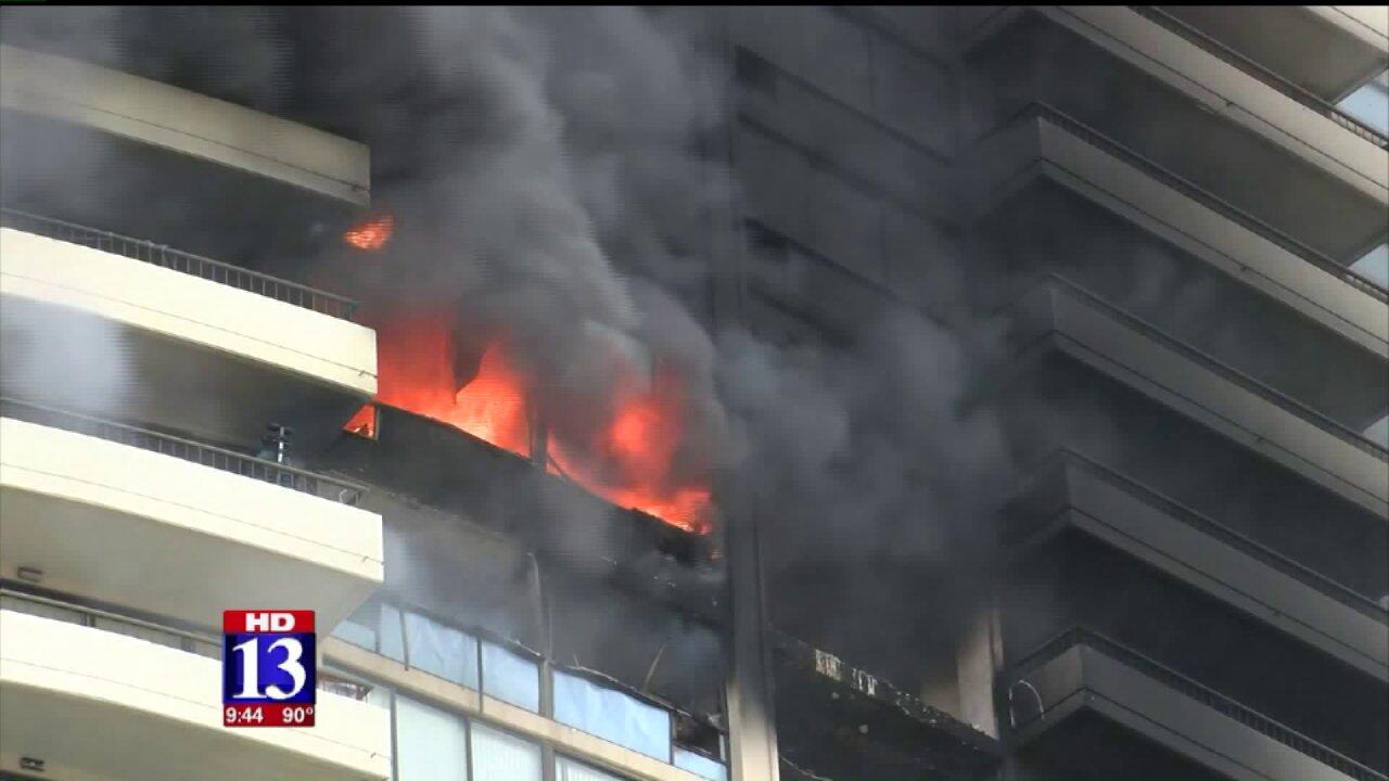 Three dead in Honolulu high-rise fire, mayorsays