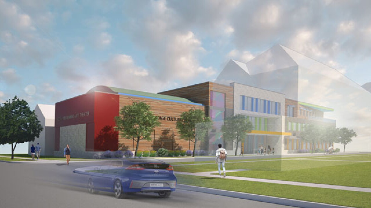 The plan is to open the Hispanic Heritage Cultural Institute by Fall 2021