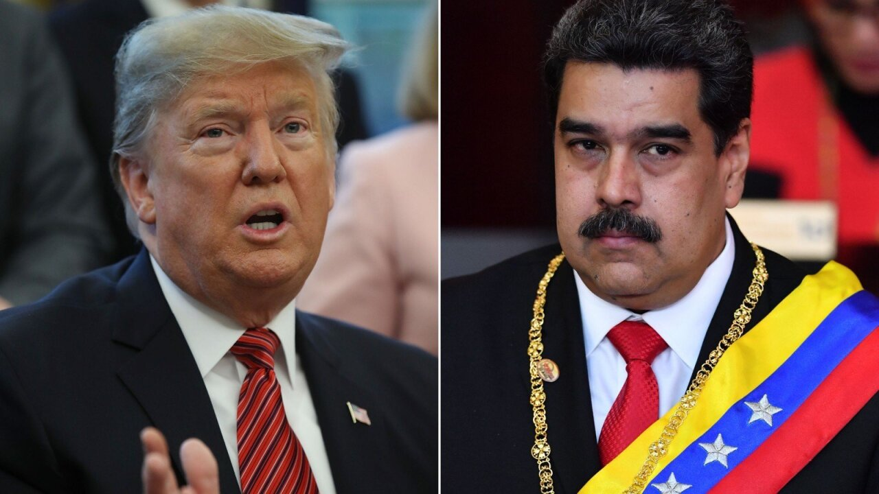 Trump ramps up pressure on Venezuela's Maduro in speech