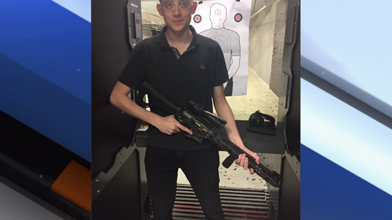 Parkland student claims he was interrogated by deputies for shooting AR-15 at gun range with his dad