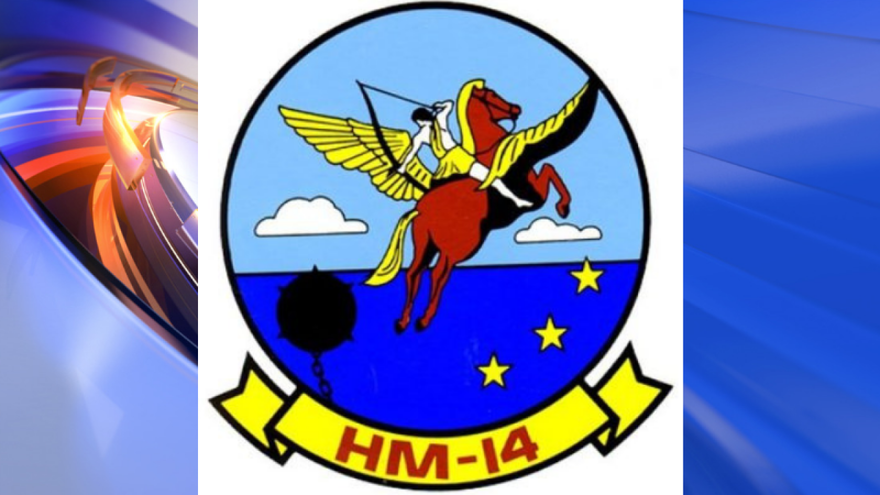 "May's Squadron of the Month: HM-14 ""Vanguard"""