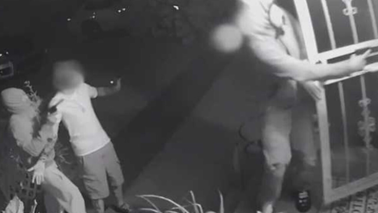 Police Search For Armed Home Invasion Suspects