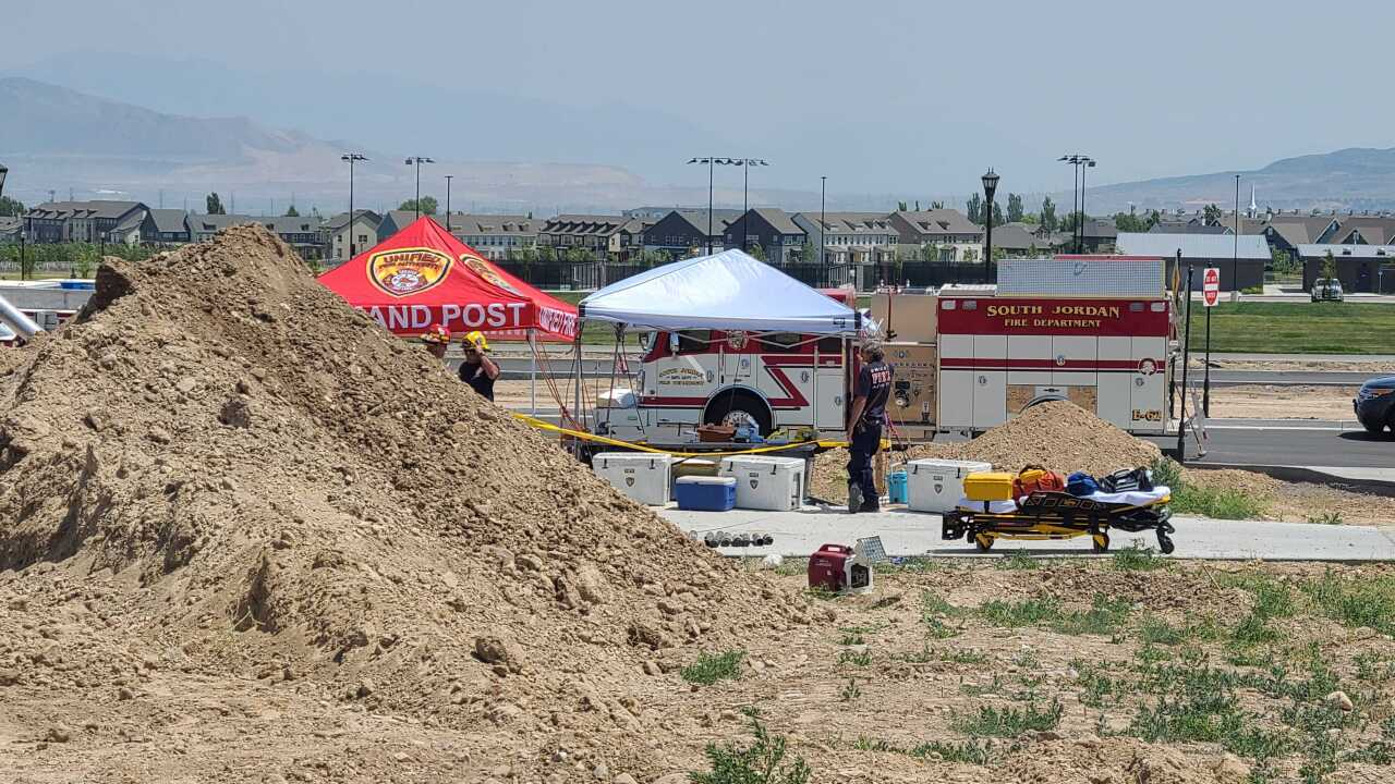 South Jordan trench collapse