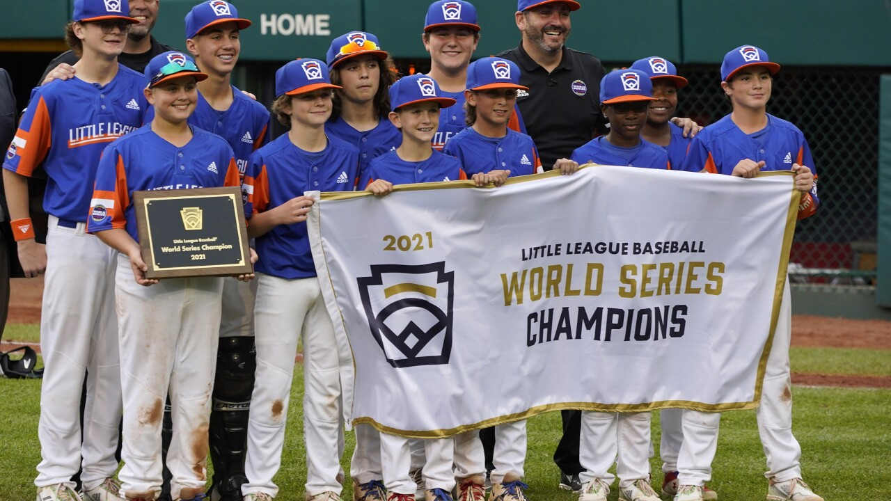 LLWS Championship Ohio Michigan Baseball