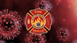 Palm Beach Gardens Fire Rescue logo on coronavirus background.jpg