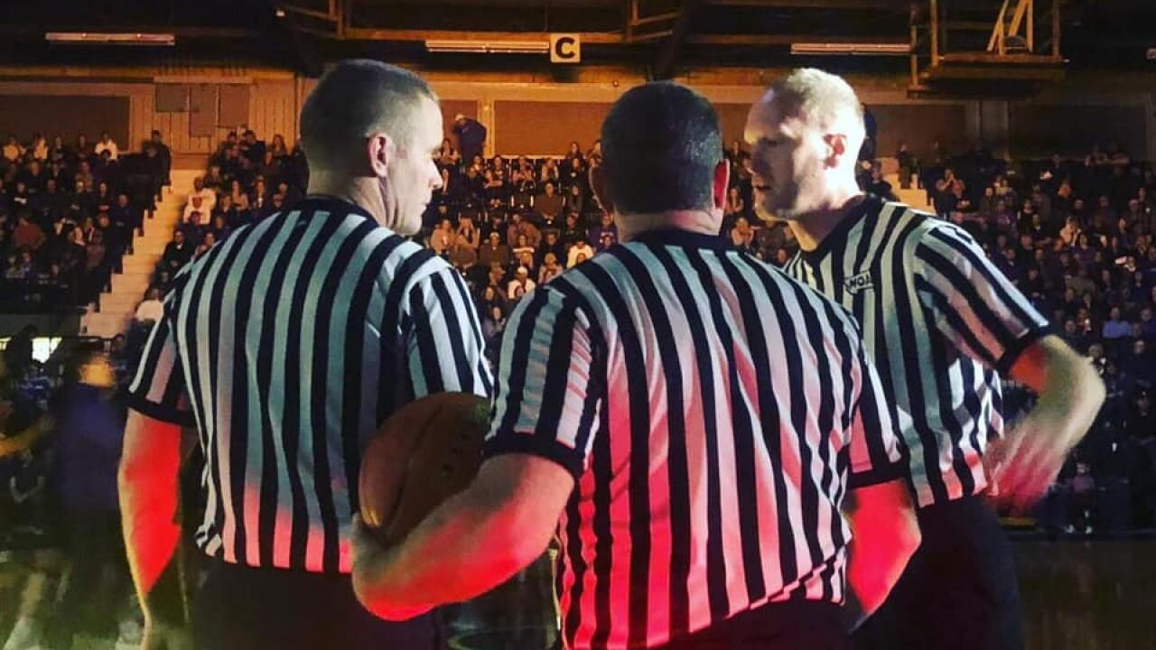 Montana basketball officials