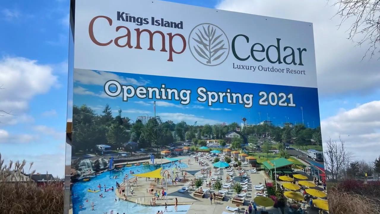 Camp Cedar sign