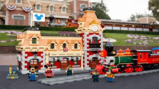 Lego's New Disney Train Station Set Has More Than 2,900 Pieces