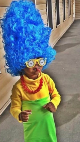 Simpson Halloween costume