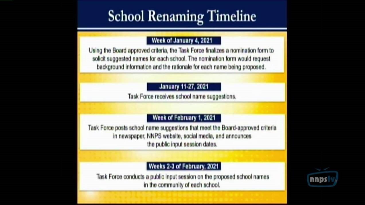 Newport News School Board school renaming timeline 2.jpg