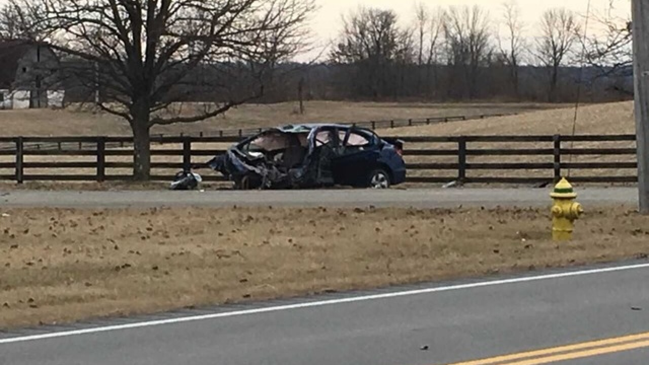 4 hospitalized in crash on U.S. 42 in Boone Co.