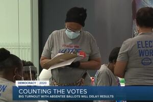 Election workers face counting backlog as Michiganders return 1.6 million absentee ballots