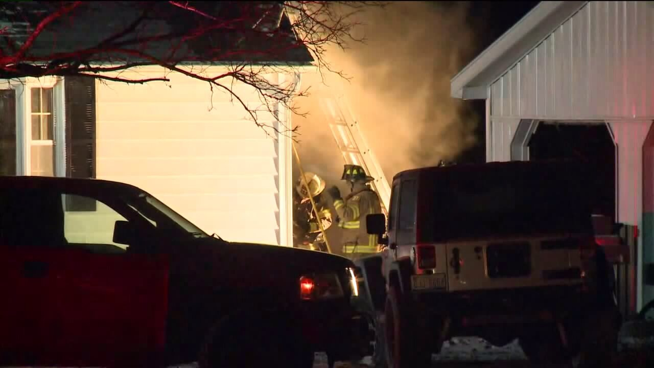 House fire in Berlin Twp.