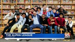 Making A Difference: Alpha League Helps Young Men Promote Excellence