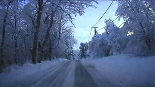 Parts of New Jersey worst hit by winter storm