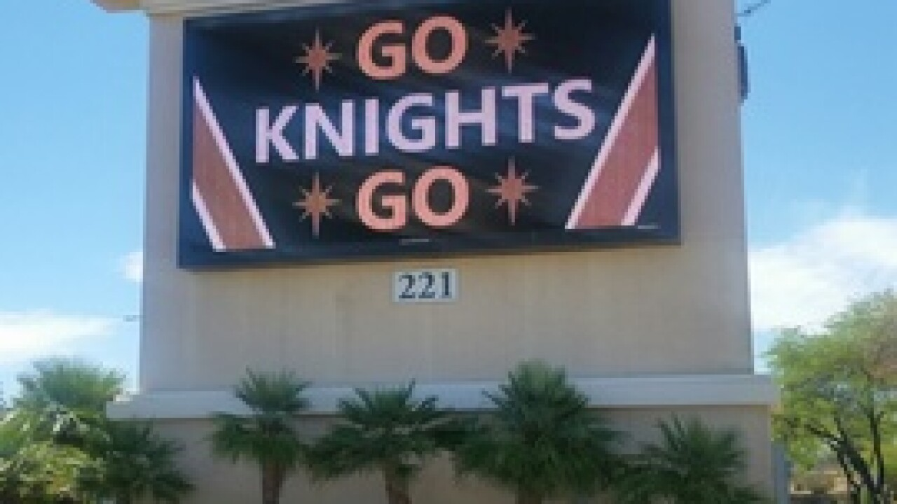 PHOTOS: Support for Vegas Golden Knights seen around Las Vegas valley