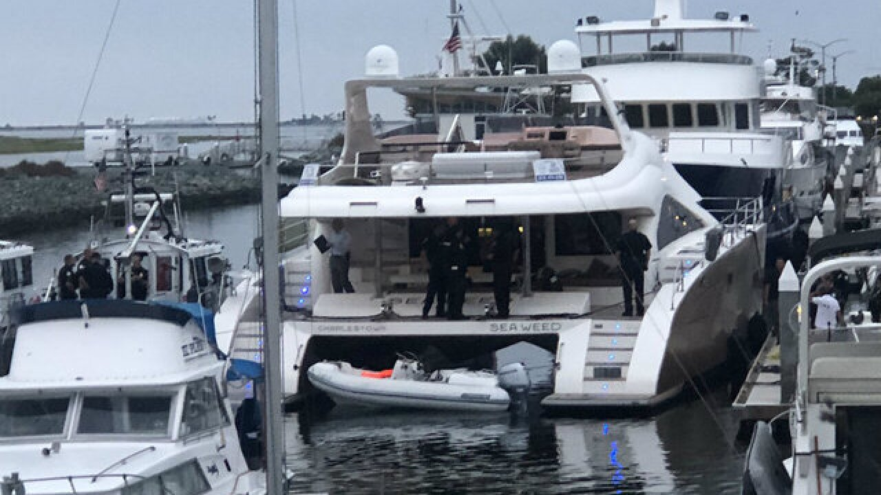 1 person shot aboard yacht in National City