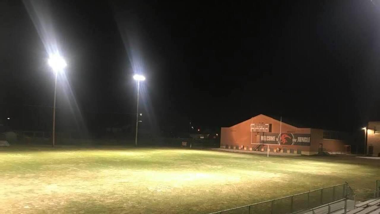 Eureka High School football field