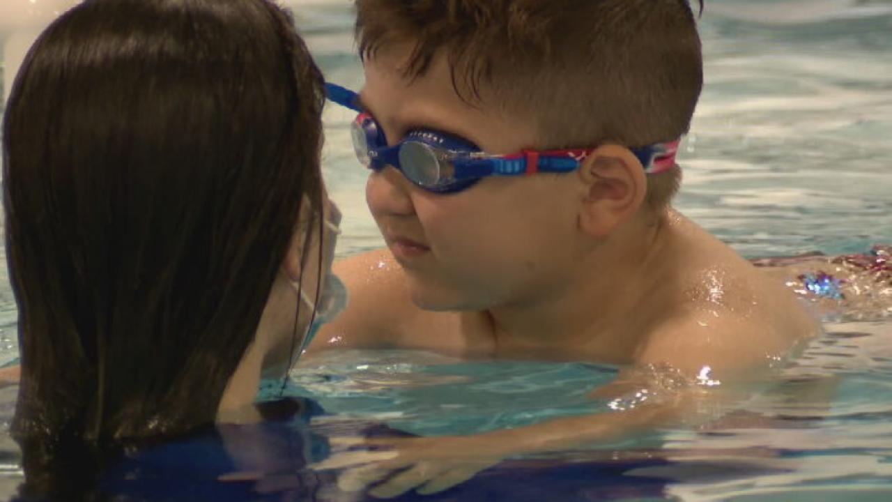 Former Olympian teaching Nashville children life-saving skills in the water