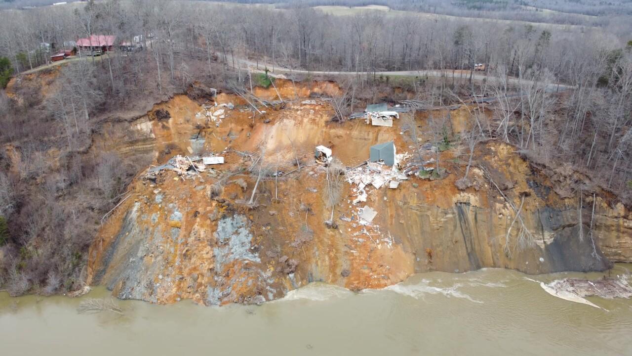 landslide in hardin county