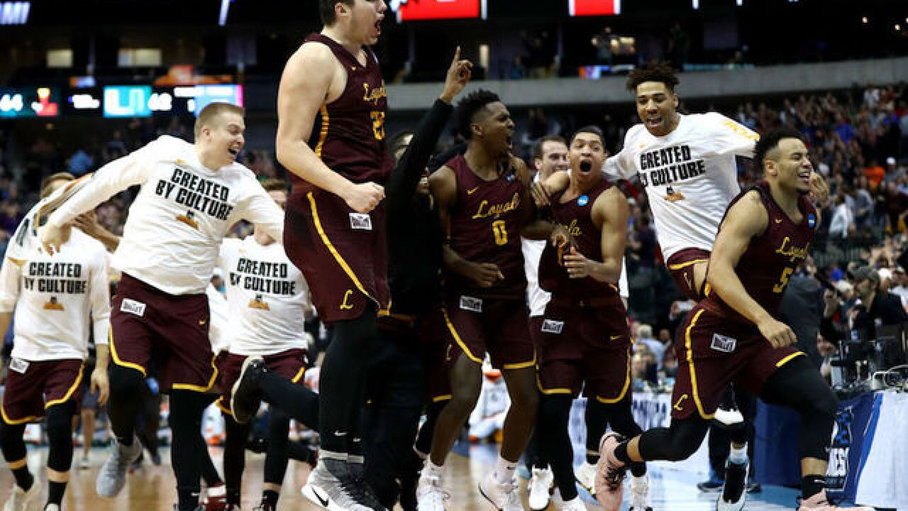 Watch: First day of March Madness includes exciting finishes