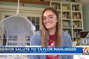 Senior Salute - Taylor Mahlinger