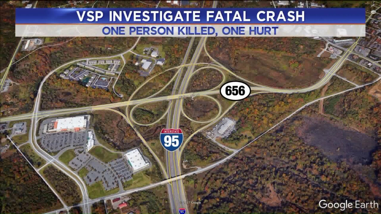 One person killed in I-95accident