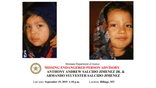 Billings PD Request help in finding two missing children