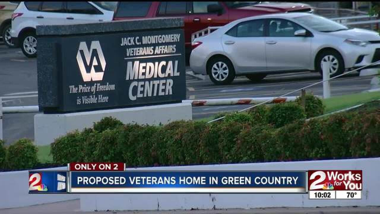 Muskogee a finalist for proposed veterans home