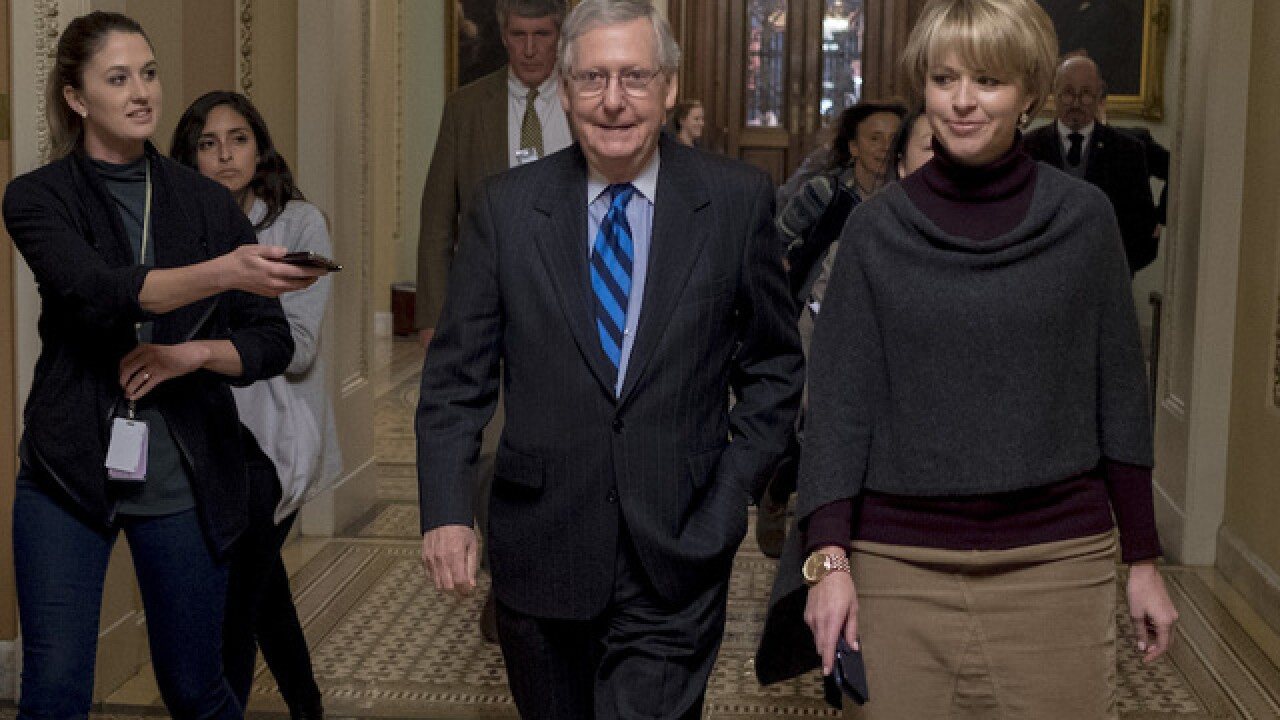 Senate leaders announce two-year budget deal