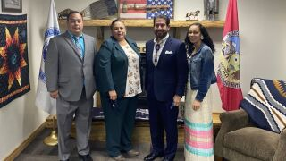 Stone Child College forges partnership with Texas official