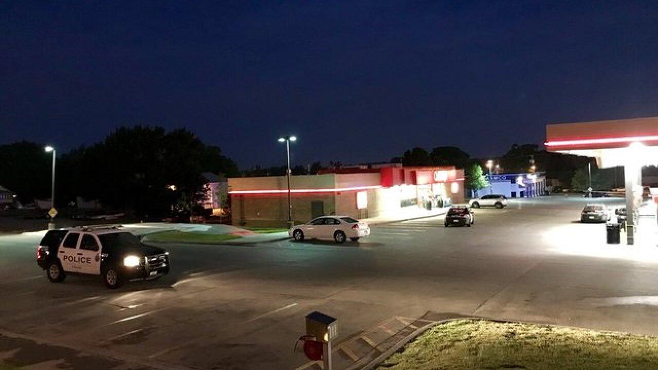 Gas station clerk injured in shooting
