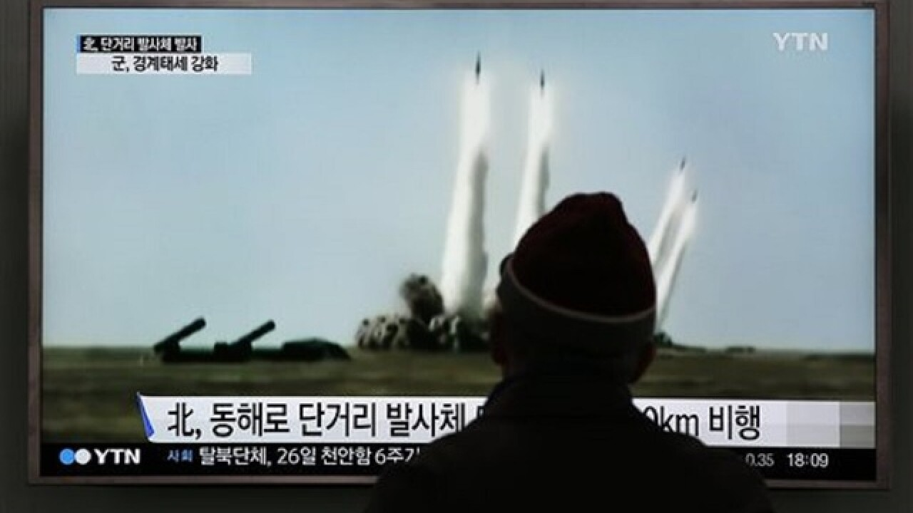 Seoul says N. Korean missile launch fails