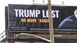 """""""TRUMP LOST, NO MORE 'AUDITS'"""" billboards go live in Michigan and other battleground states"""