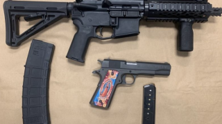 Sureno gang members arrested with AR-15 rifle and other guns