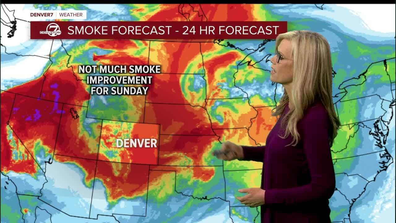 24 hour smoke forecast
