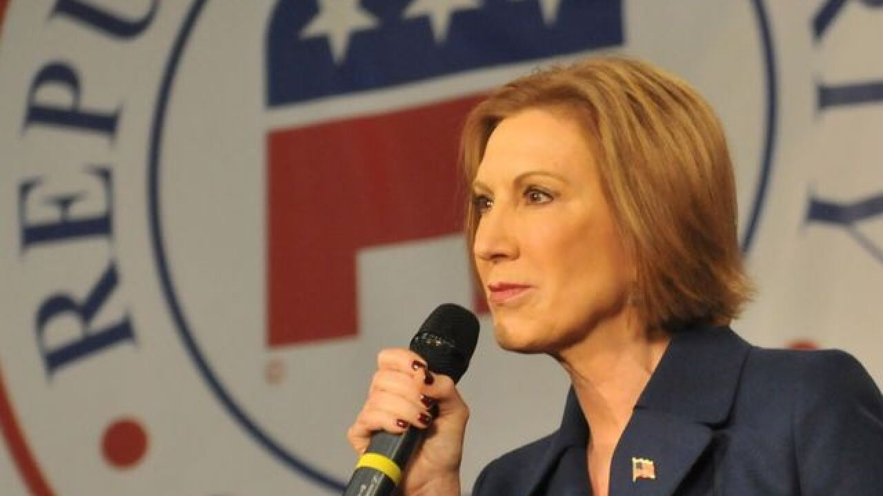 NH GOP bristles at Fiorina's debate exclusion