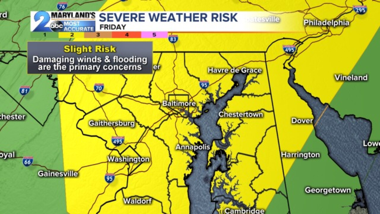 Severe Storms Friday
