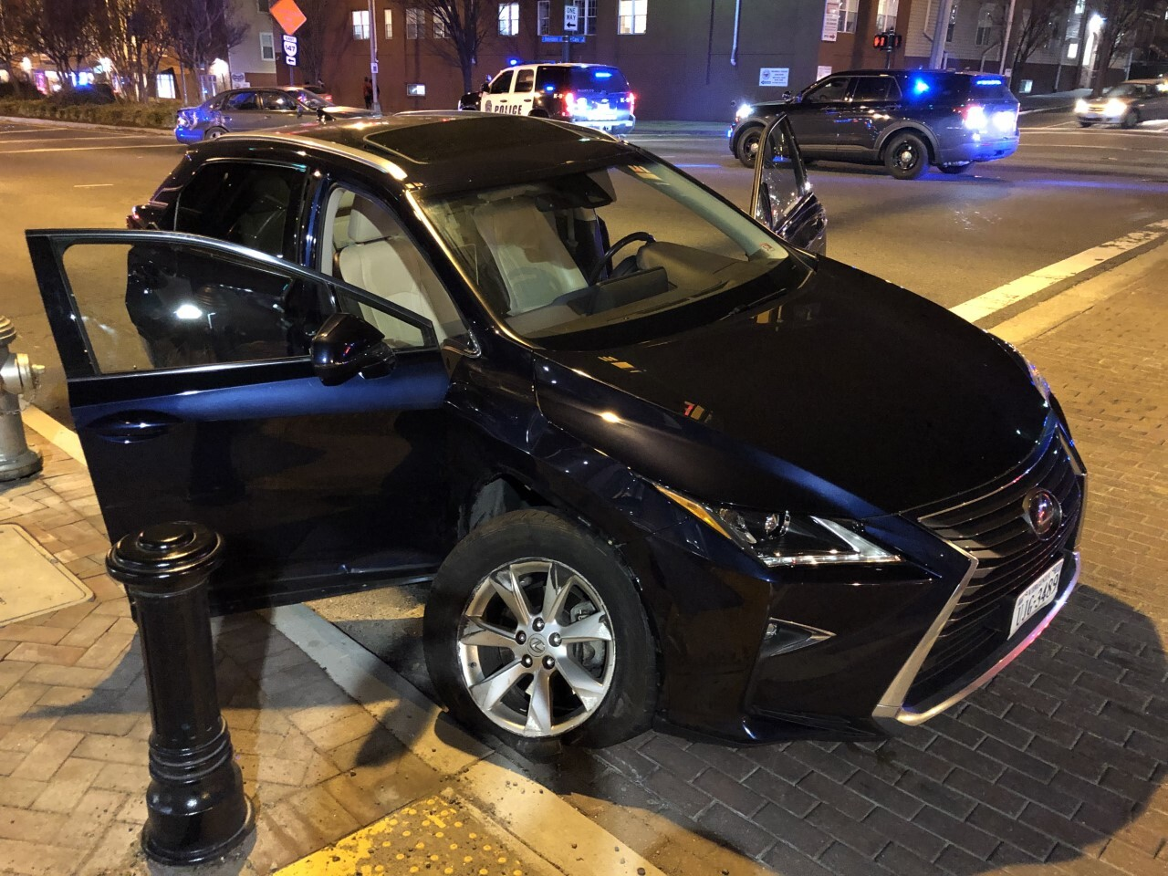Suspect's Car on South Belvidere Street