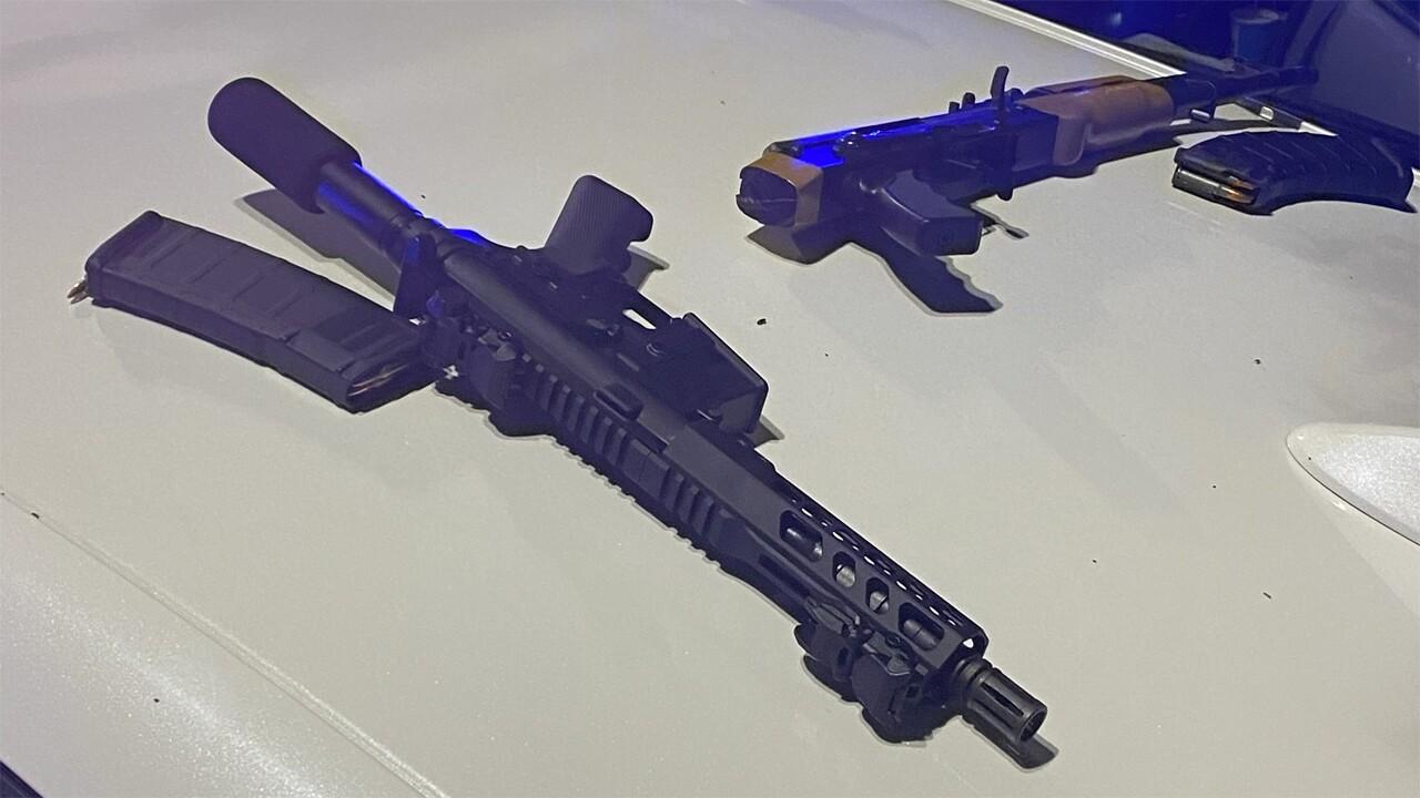Homemade gun found in stolen car