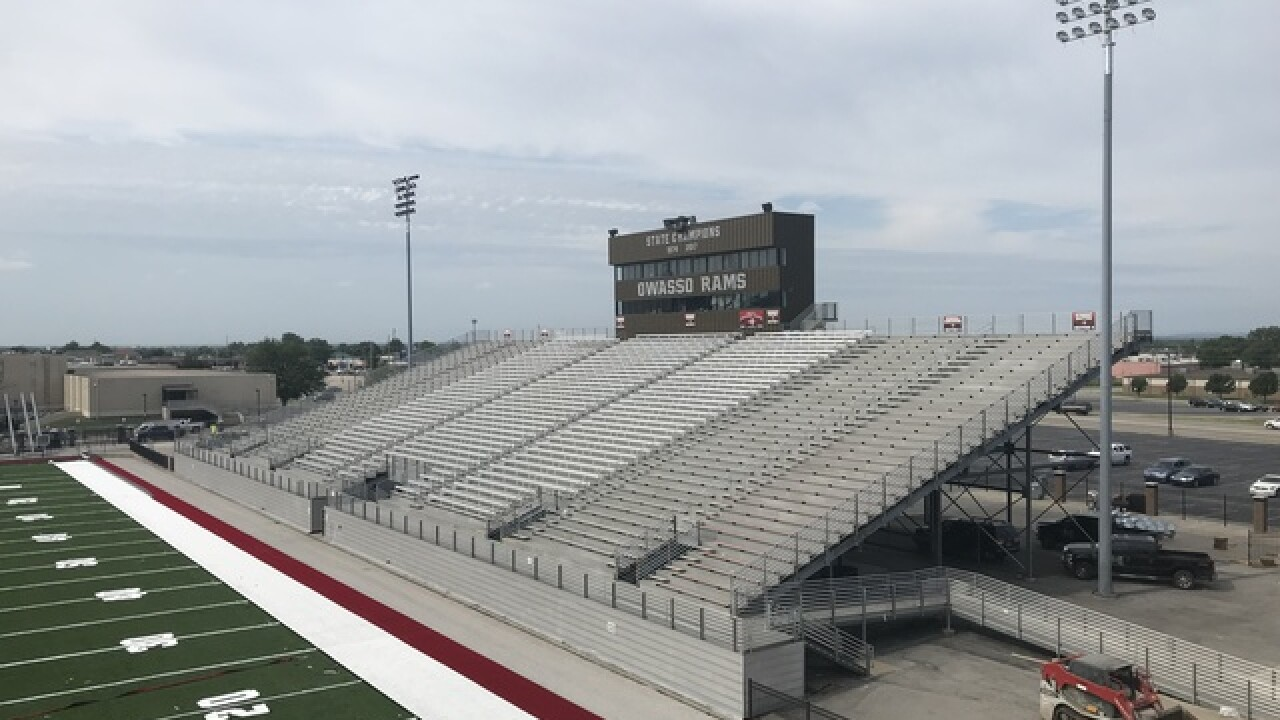 Concession app to debut at Owasso football games this season