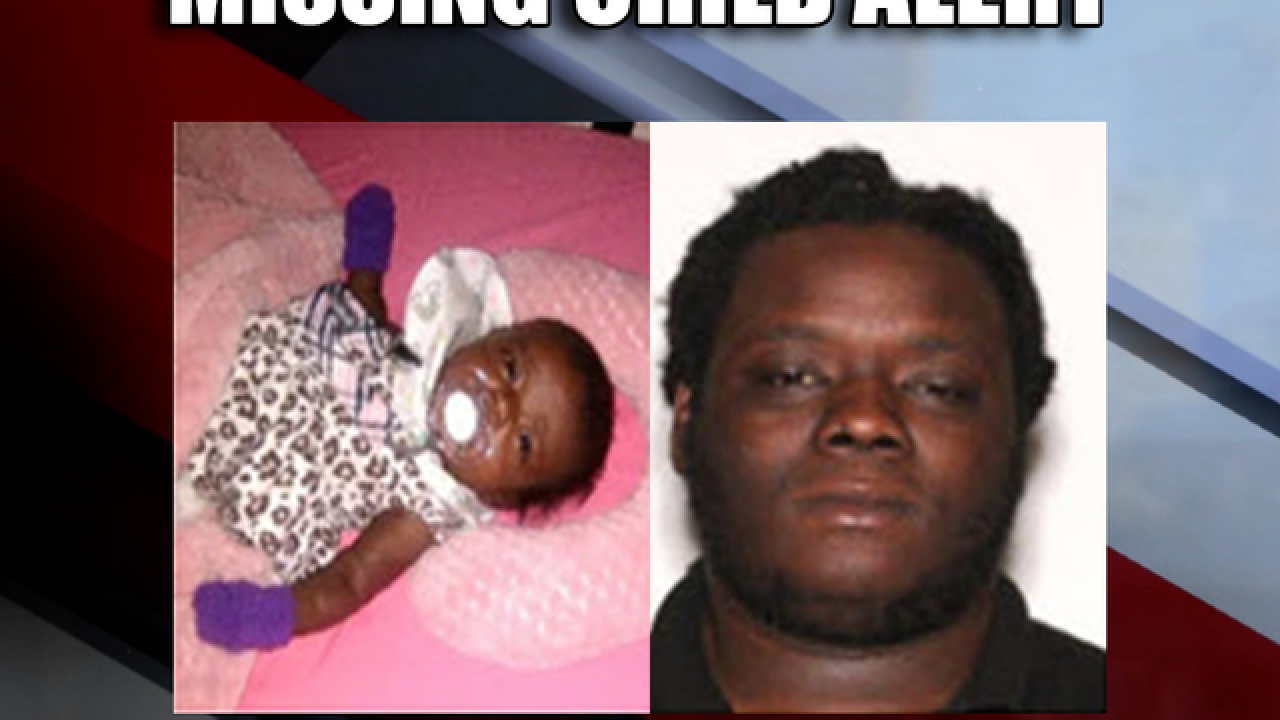 Missing Child Alert issued for 1-month-old from Gainesville