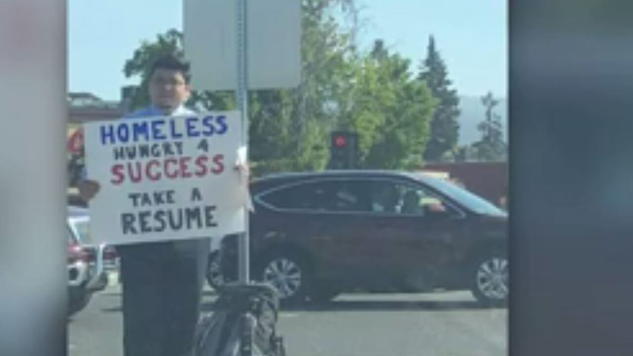 A homeless man handing out resumes in Silicon Valley gets more than 200 offers