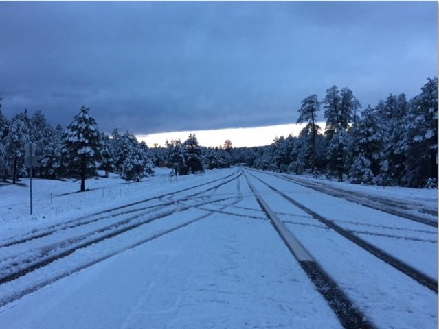 PHOTOS: Northern AZ gets first snowfall