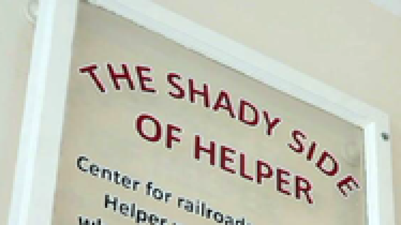 Exhibit showcases the shadier side of Helper, Utah
