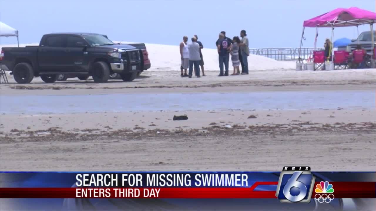 Search continues for missing 18-year-old local swimmer